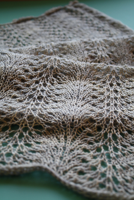 A Simple Lace Scarf Pattern Knitting Bee