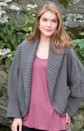All Around Warm Jacket Crochet Pattern