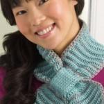 Bow Tie Neck Warmer Crochet Pattern
