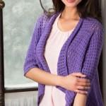 Drapey Crochet Cardigan Crochet Pattern