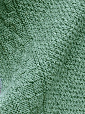 Capron Textured Throw Free Knitting Pattern 1
