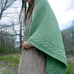 Capron Textured Throw Free Knitting Pattern