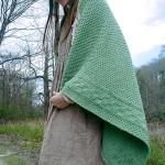 Capron Textured Throw Free Knitting Pattern