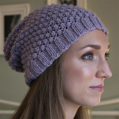 Debbie Bliss Blackberry Beanie