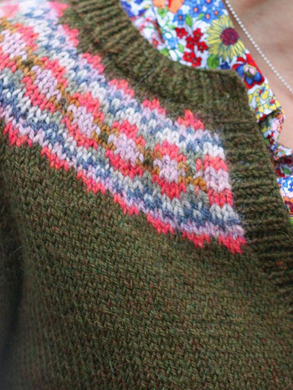 Ellen Cardigan Knitting Pattern ⋆ Knitting Bee