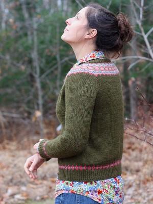 Ellen Cardigan Knitting Pattern