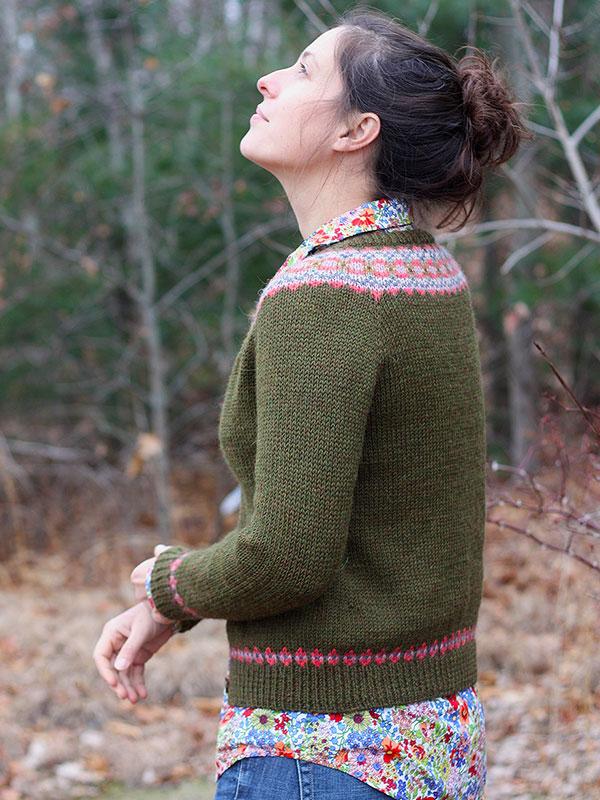 Lil Grandpa Cardigan Free Knitting Pattern