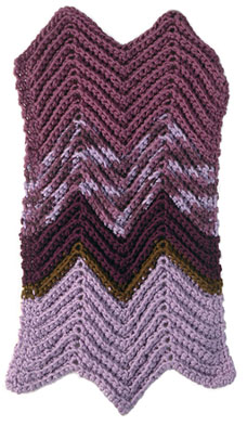 Madrid Comfort - Ripple Stitch Crochet Afghan 1