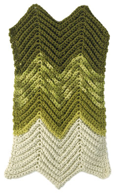 Madrid Comfort - Ripple Stitch Crochet Afghan 2