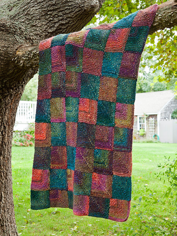 Berroco Putnam Free Blanket Pattern ⋆ Knitting Bee