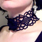 Asphyxiation Gothic Crochet Choker Pattern