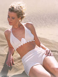 Bikini Top and Hotpants Free Crochet Pattern
