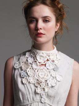 Crochet Floral Choker Pattern