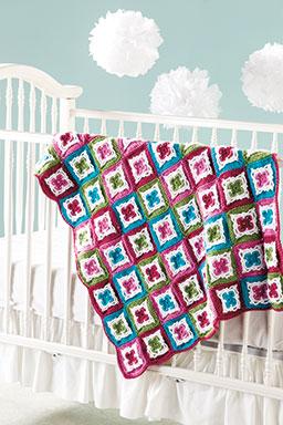 Irish Blossoms Baby Blanket