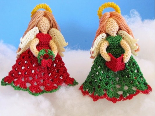 Little Angels Christmas Ornaments
