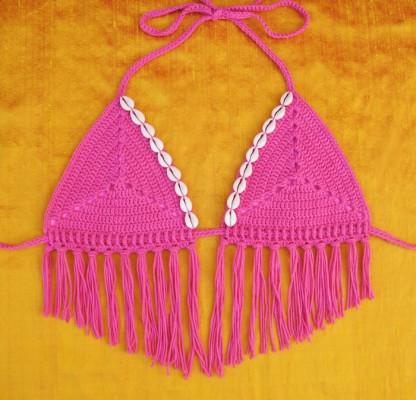 Sand Dollar Bikini Top