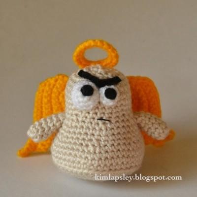The Cranky Angel Crochet Pattern
