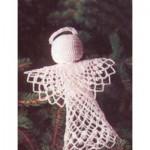 Tree-Topper Angel - Free Crochet