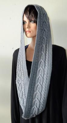 Inner Truth Cowl Free Knitting Pattern 1