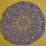 Blue Doily Crochet Pattern Free
