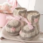 Baby Booties - Free Knitting Pattern