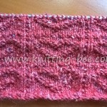 Textured Heart - Free Knitting Stitch