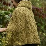 Adwen Cable Cape free knitting pattern
