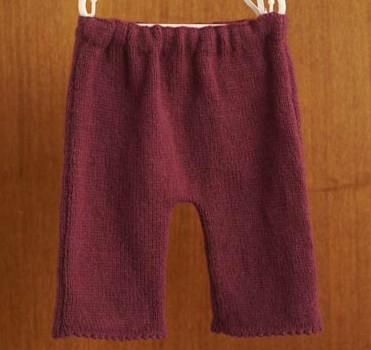 Blacker Swan Girl's Smocked Tunic and Leggings free knitting pattern 1