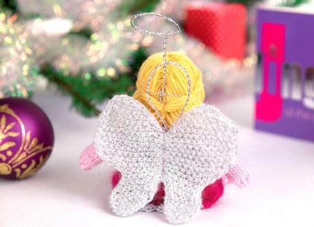 Fae Angel Doll Knitting Pattern 2