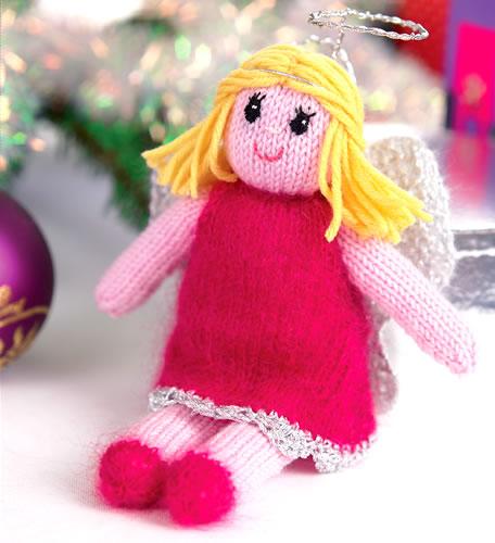 Fae Angel Doll Knitting Pattern