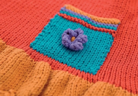 Free Sundress and Hat Set Knitting Pattern for Little Ones 4