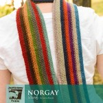 Norgay Scarf - Free Knitting Pattern