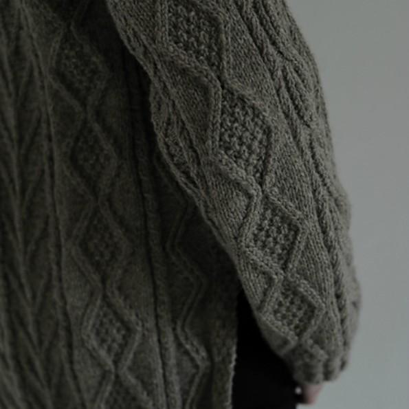 Rita's Aran Jacket free knitting pattern 2