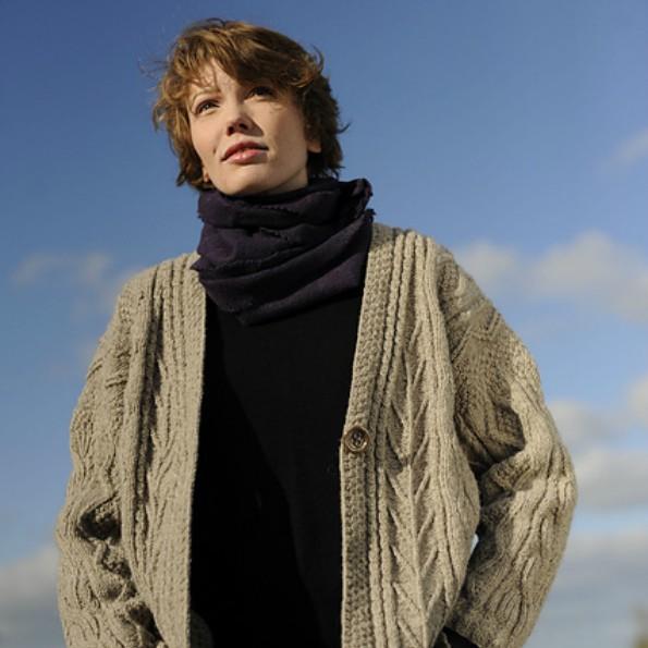 Rita's Aran Jacket free knitting pattern