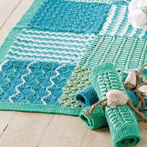 Soft Shells Runner & Stitch Blocks