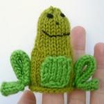 Little Friendly Frog Knitting Pattern