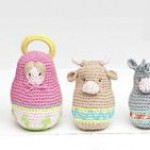 Amigurumi Nativity Russian Dolls Crochet Pattern