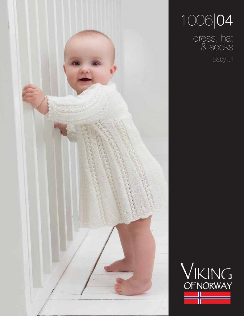 Baby Dress, Hat & Socks