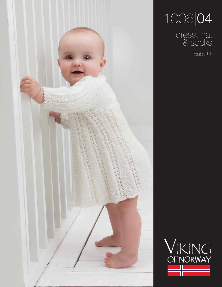 Baby Dress, Hat & Socks ⋆ Knitting Bee