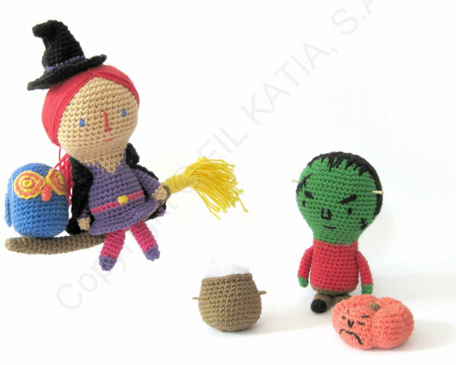 crochet-halloween-toys-with-and-frankenstein-free