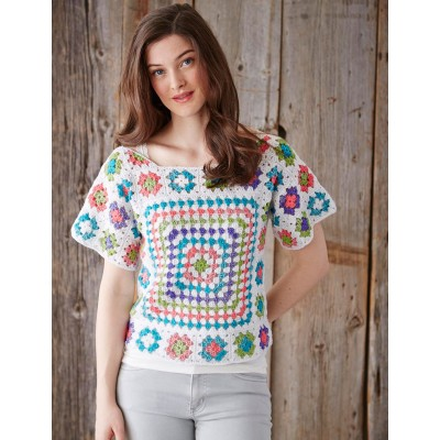 Crochet Tops Knitting Bee 7 Free Knitting Patterns