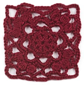 Afghan Block of the Month January