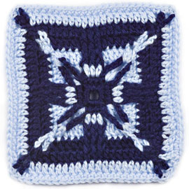 Afghan Block of the Month