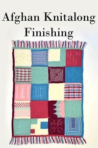 Afghan Knitalong - Finishing