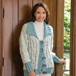 Arctic Frost Coat - Free Knitting Pattern