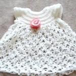 Baby Dress - Solomon's Knot