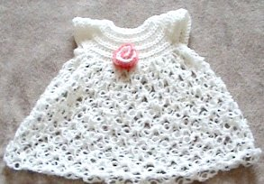 Baby Dress - Solomon's Knot