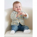 Baby's First Cardigan -Free Crochet Pattern