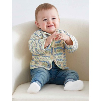 Baby's First Cardigan free pattern