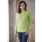 Boat Neck Pullover Crochet Pattern